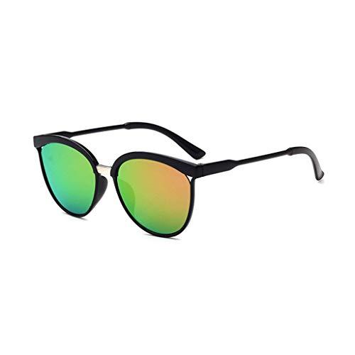 EUCoo Modische Sonnenbrille, AusgehöHlte Big Box-Sonnenbrille, Reflektierende Uv-Schutzbrille(G)