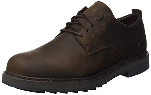 Timberland Squall Canyon Waterproof, Zapatos de Cordones Oxford para Hombre, Marrón Dark Brown Full...