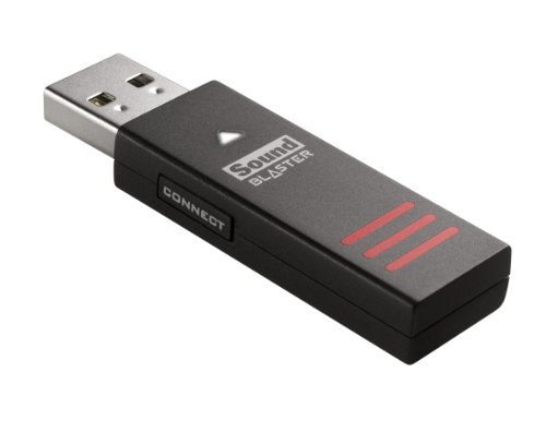 Creative Sound Blaster Tactic3D Rage Wireless V2.0 Gaming Headset für PC, Mac und PS4, schwarz - 4