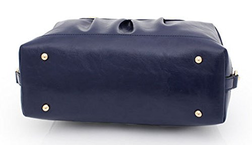 Keshi Pu Nouveau style - Sac à main femmes - Porté MAIN et EPAULE Marron 1