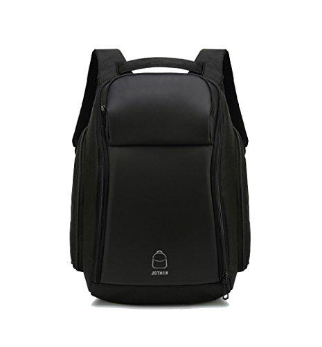 JOTHIN Tela Zaino Uomo Backpack Laptop da 15.6 Pollici Antifurto Zaini Moderni Lavoro Daypack Impermeabile Zainetto con USB