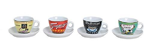 4 Stück Espresso-Tassen