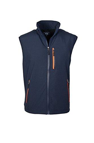Michaelax-Fashion-Trade - Blouson - Uni - Manches Longues - Homme Navy/Neon Orange (280)