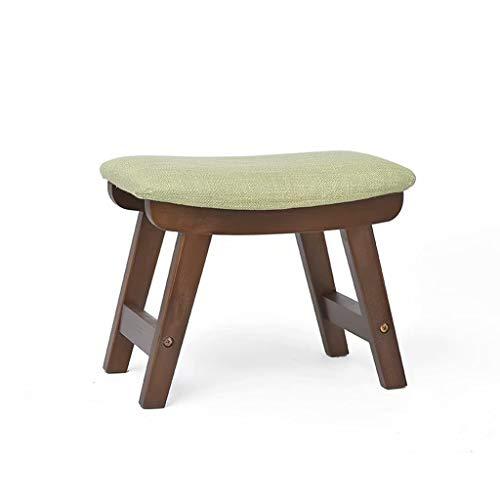 WEIFAN-Furniture Taburete de Madera Maciza Importado Eucalipto Diseño