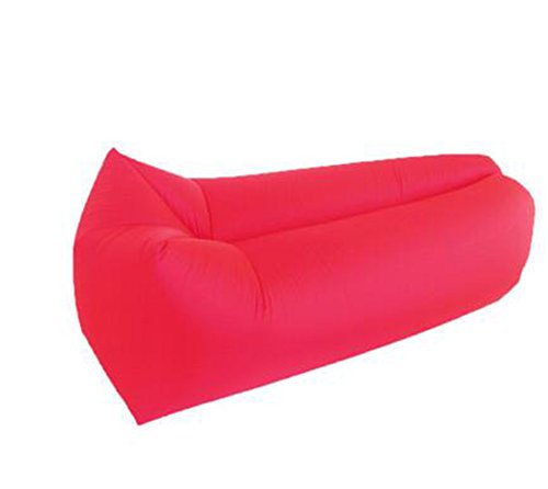L&ZR Aufblasbare Lounger Air Sofa Hängematte-Portable Aufblasbare Couch Air Lounger Mit Tragbaren Paket Air Chair Für Camping Reisen Picni Pool Wandern - Bag Tür Bean