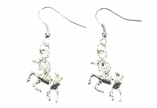 pendientes-de-unicornios-unicornioconstellation-miniblings-caballo-fantasy-unicorn-moho-de-plata