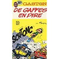 Gaston Tome N°13 - De Gaffes En Pire