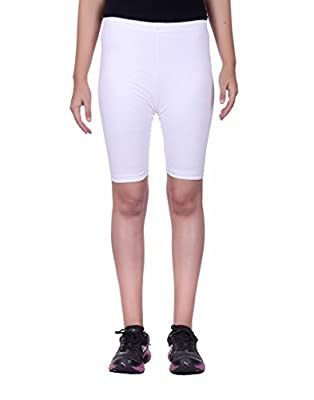 Alisha Women's Cotton Lycra Cycling Shorts/Tights - Pack of 4