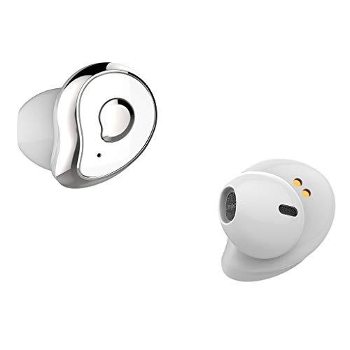 bescita Bluetooth Sport in-Ear Kopfhörer, Mini Twins True Wireless Bluetooth 5.0 mit EDR Stereo Headset In-Ohr Kopfhörer Ohrhörer mit Mikrofon Wasserdichtes für iPhone, Huawei und Samsung (D) (Bose Bluetooth-stereo-headset)