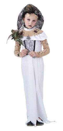 Zombie Braut Kinder Halloween Fancy Dress Outfit L 146 cms (Fancy Dress Party Outfits)