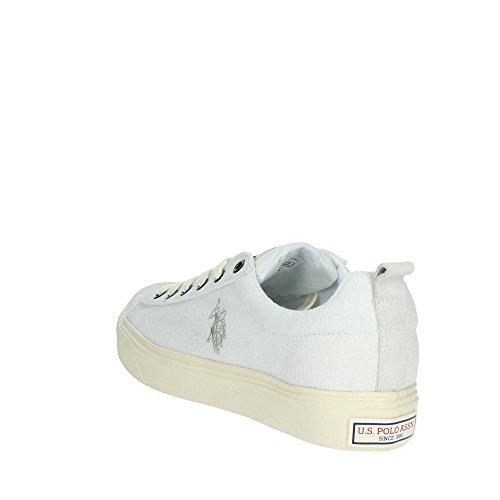 U.S.POLO ASSN. Tebio, Baskets Homme Blanc (White)