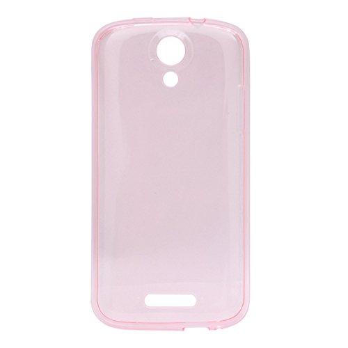 Guran® Weiche Silikon Hülle Cover für Doogee Nova Y100X Smartphone Bumper Case Schutzhülle-Rosa