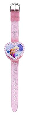 Joy Toy 755557 Disney Frozen LCD reloj con 2-interchangeable forma de corazón Covers en blister de Joy Toy AG