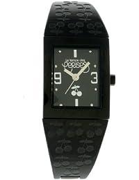 Le Temps des Cerises - TC09TBKM - Montre Femme - Quartz Analogique - Cadran Noir - Bracelet Métal Noir