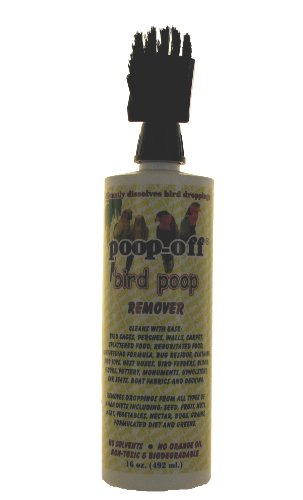 Poop-Off | Bird Dropping Remover | Cleans and Dissolves