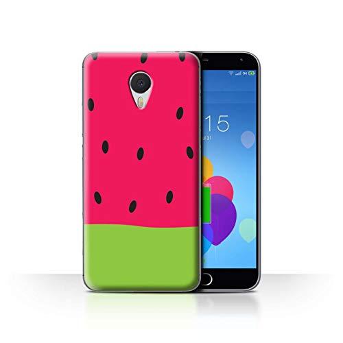 eSwish Hülle/Case für Meizu M3 Note/Wassermelone Muster/Obst Karikatur Sommer Kollektion