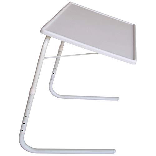PROTENROP Mesa portátil Regulable, Color Blanco