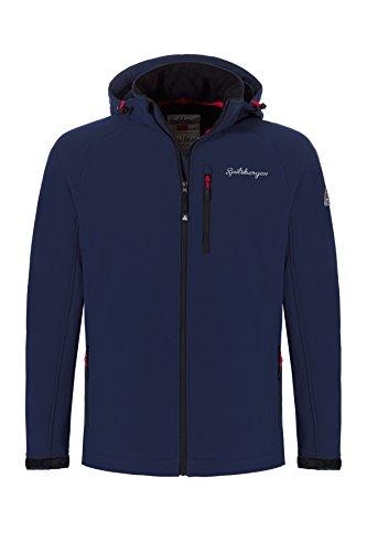 (Apollo Sports Apparel Spitsbergen 3-Lagen Softshell Jacke ALESUND - Wind- und Wasserabweisende Funktionsjacke Für Herren)