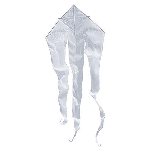 Invento 106143 - Flowtail Delta 600 Einleiner, Ab 12 Jahren, 575 x 185 cm Ripstop-Polyester 2-5 Beaufort, weiß