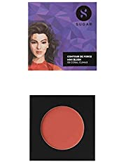SUGAR Cosmetics Contour De Force Mini Blush - 05 Coral Climax (Bright Coral)