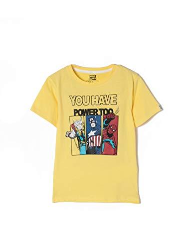 9e72a3b56 Zippy Zb03l11_455_4, T-Shirt Bambino, Giallo (Aspen Gold 1662), 14