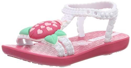 Ipanema My First IV Ba, Sandalias para Bebés, Pink/White 8015, 22/23 EU