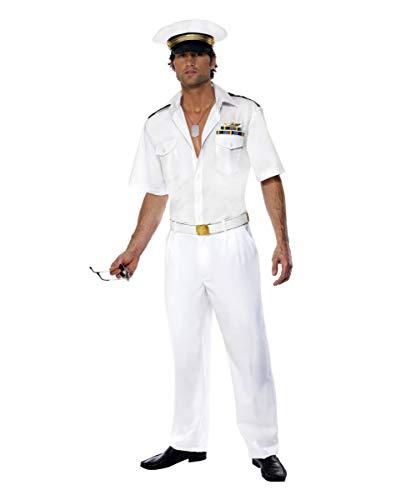 Kostüm Top Tom Cruise Gun - Horror-Shop Top Gun Captain Kostüm M