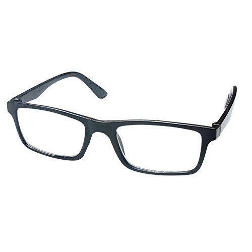 Meijunter Plastik volle Rahmen rechteckige Art und Weise Lesegläser presbyopia Gläser