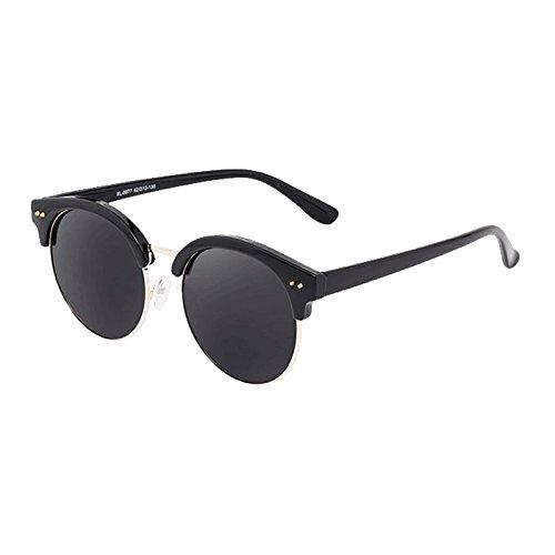 Moolo HLMMM Sunglasses Sunglasses Female Polarizer Han Chao Retro Harajuku Wind UV Anti-glare UV400