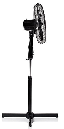 "3199tVEhDSL - Netagon 16"" Electric Oscillating Floor Standing Pedestal Air Cooling Fan (Black)"