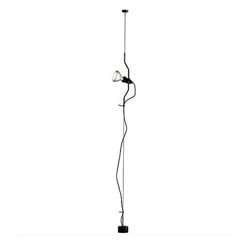 Flos Leuchte mit Dimmer E27, 150W, Schwarz -