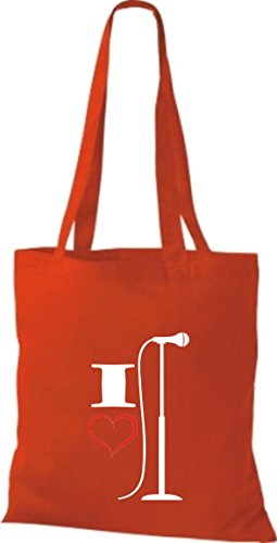 Shirtstown, Borsa tote donna Rosso (rosso)