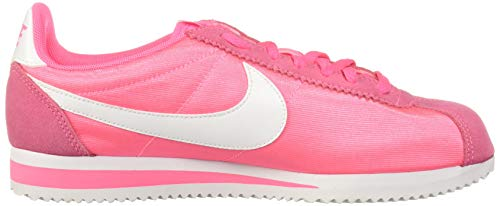 more photos bc758 af52d Nike CLASSIC CORTEZ NYLON W women s Shoes (Trainers) in Pink   749864-608    FOOTY.COM