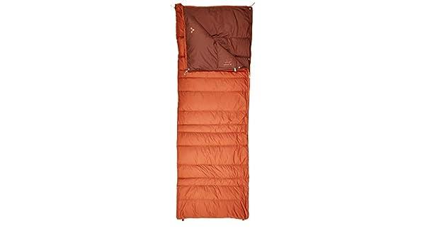 Les Voyages et Les Nuits en Refuge Mixte Adulte VAUDE Kamor 400 DWN Sac de Couchage en Duvet l/Ãger pour Le Camping Chestnut