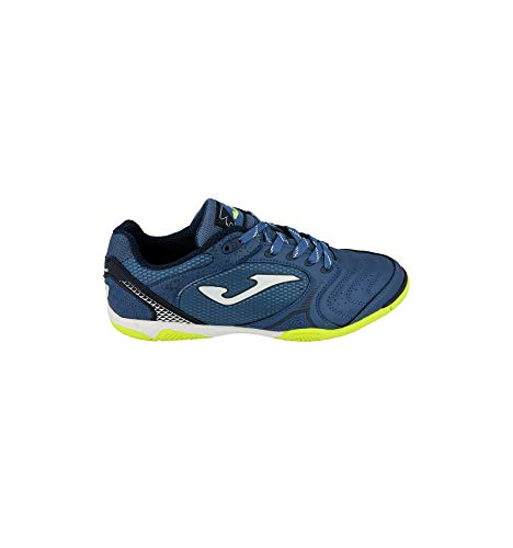 -Joma Scarpe Dribling Futsal Calcetto Indoor 805 Blue (42 EU)