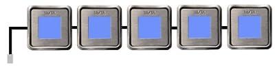 Insta-Leds square 5er-Kette blau von Insta bei Lampenhans.de