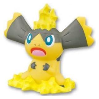 Pokemon Kids Kimewaza XY Puppet Figure~694 Erikiteru Helioptile Eguana Galvaran