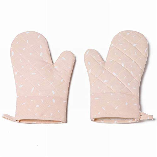 WE-WIN Mikrowelle Oven Handschuhe, Heat Resistant Shell Küche Ofen Mitts Handschuhe BBQ Kochset Back-Grilling Barbecue Mikrowelle Maschine Shell Mitt