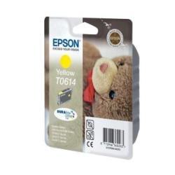 Epson T0614 Teddybär, wisch- und wasserfeste Tinte (Singlepack) gelb