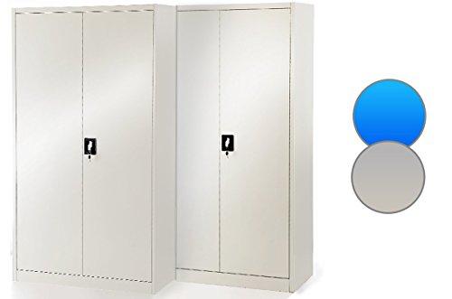 2er-Set-Aktenschrank-C001-Broschrank-Metallschrank-Werkzeugschrank-Universalschrank-185-cm-x-90-cm-x-40-cm