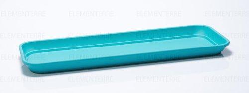 PLATEAU POUR JARDINIERE INIS 50 cm bleu ottanio