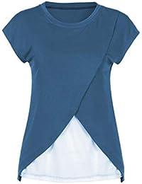 Premamá Invierno Leggins Abrigos La Maternidad De La Mujer De EnfermeríA Abrigo Superior Tapa Mangas Doble Capa Blusa Camiseta