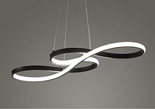 LED Pendelleuchte Moderne Musik Hinweis Acryl Kronleuchter Leuchte Einbau Einbau Decken Kunst...