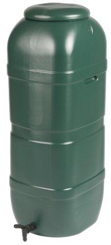 Strata Products Ltd 01-045-155 limline Water Butt avec Couvercle et Robinet, Vert