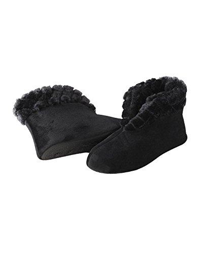 Dearfoams , Chaussons pour femme One Size Noir