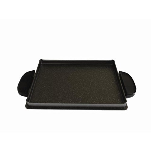 george-foreman-gfp84gp-evolve-grill-84-square-inch-shallow-griddle-accessory-pan-black-by-george-for