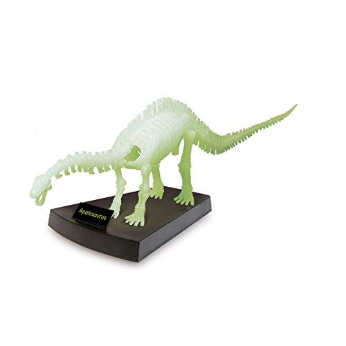 Geoworld cl287k - jurassic night apatosaurus scheletro