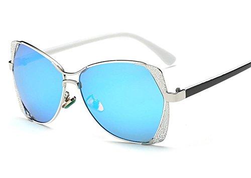 Farbfilm polarisierenden Art und Weise große Kasten-Sonnenbrille ursprüngliche Muster Seitenränder Rezept Kästen Und Behälter