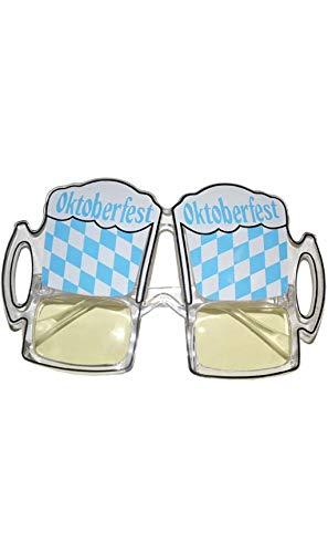 Funny Fashion Brille Bier Oktoberfest