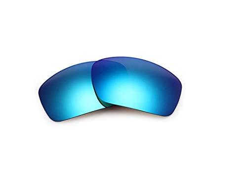 Polarisierte Ersatzgläser für Oakley Scalpel Gr. 85, blau